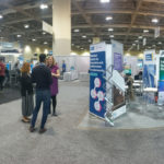 Panorama of Enable Education booth at 2019 OCE Discovery show