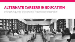 header for blog post Alternative Careers in Education via Enable Education