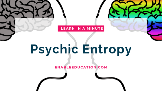 Learn in a Minute with Jamie: Psychic Entropy