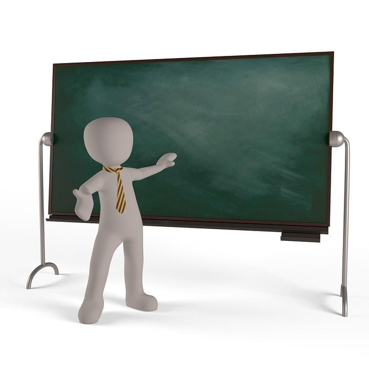 Chalkboard symbol