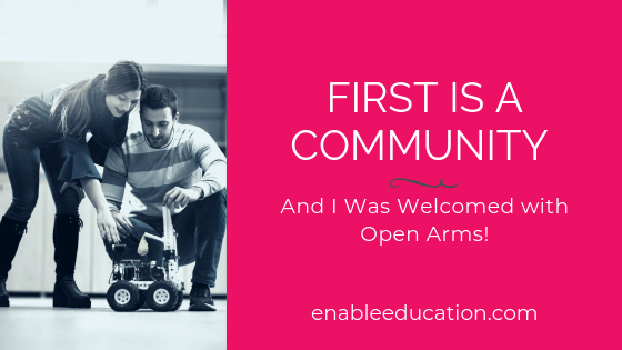 Blog Banner for Post: First is a Community Conference